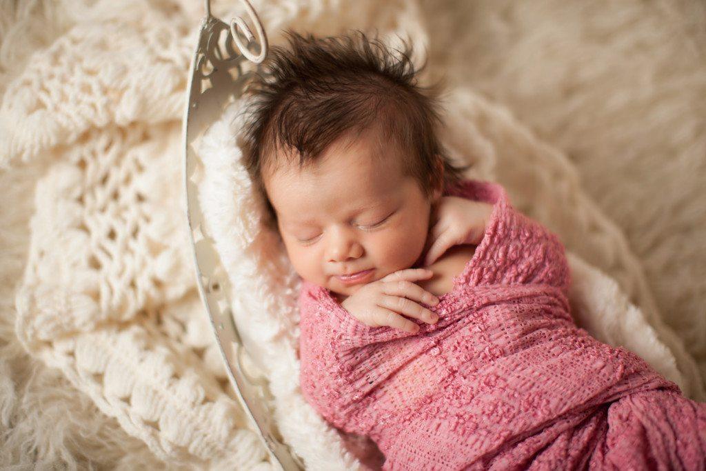 baby cream basket
