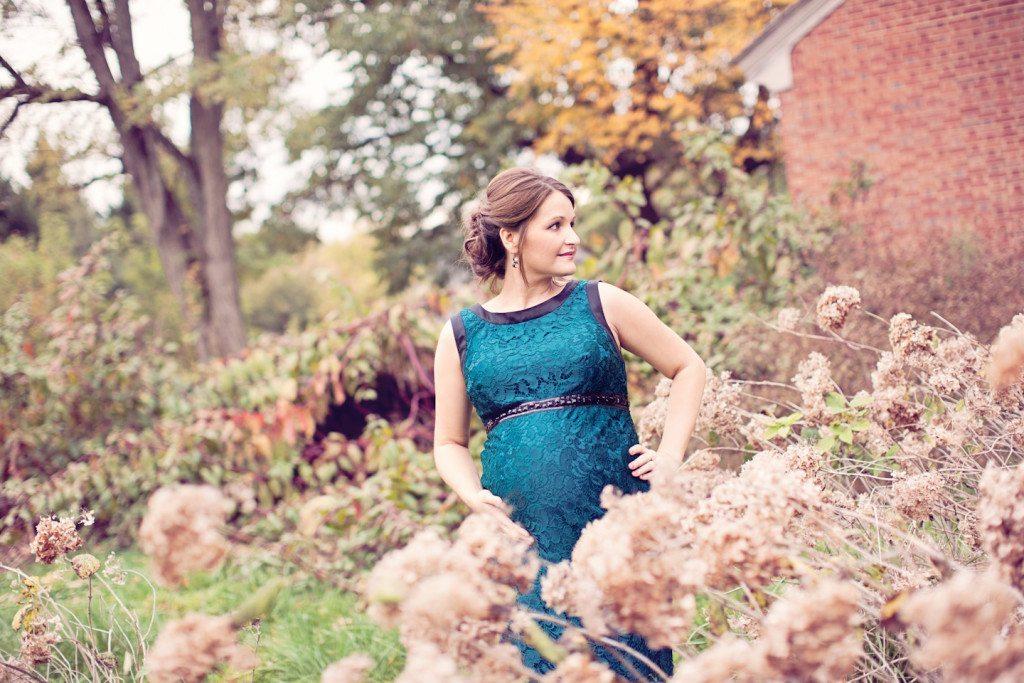 fall blue dress