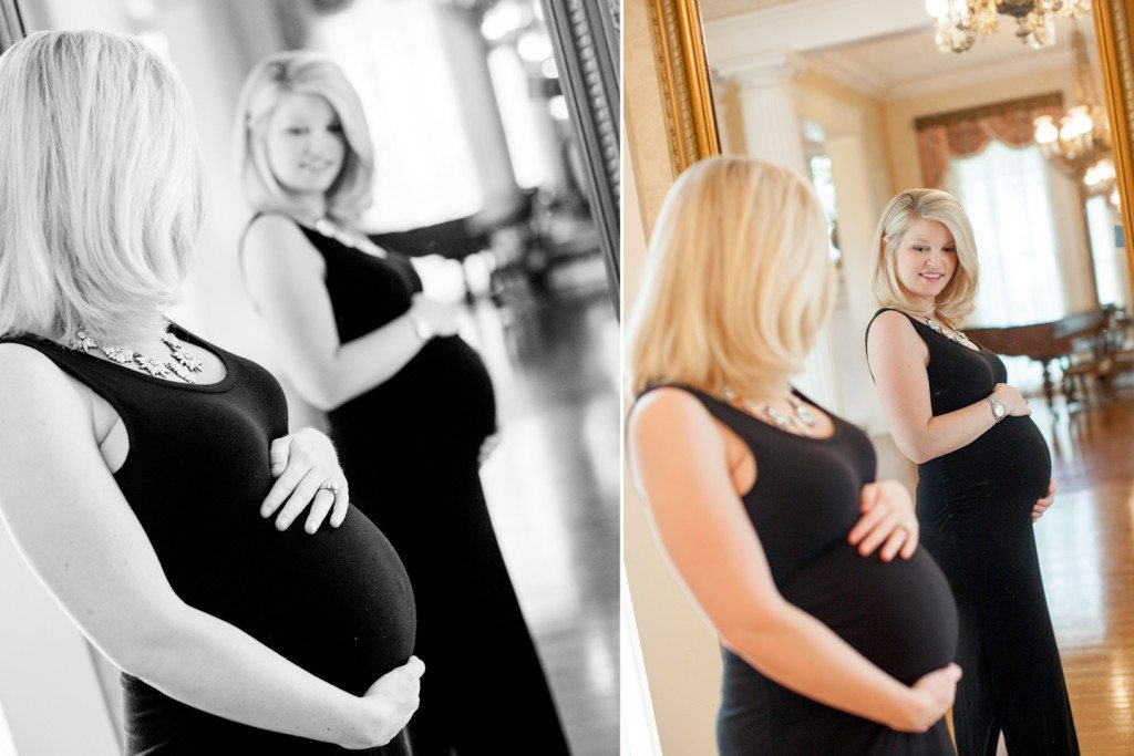 maternity reflection