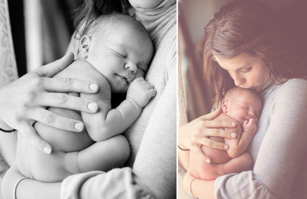 newborn window light